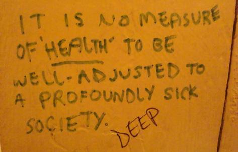 A Secret Message Behind Closed Loo Doors