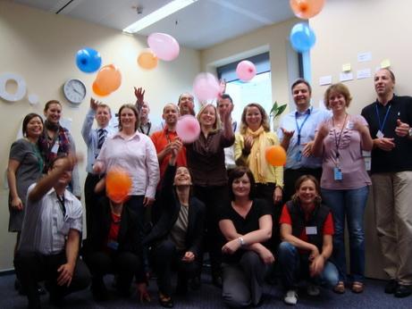 Good team work makes great parties!