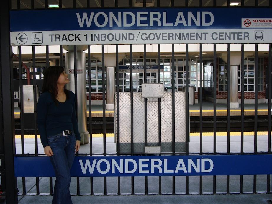 Portia in Wonderland