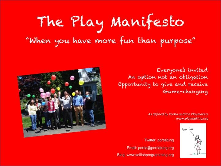 The Play Manifesto